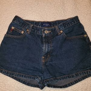 Guess shorts.  Blue denim. Size 28